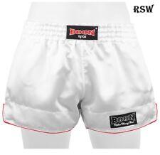 Boon Boxing Shorts Sports Rsw White Retro S M L Xl Xxl Xxxl Muay Thai Shorts
