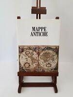 Libro  Mappe Antiche  di Tony Campbell 1981 cartografia con 68 tavole a colori
