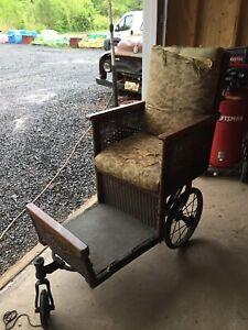 Vintage 1920's Atlantic City Boardwalk Chair