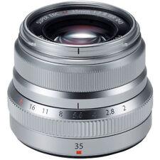 Fuji Fujifilm Fujinon XF 35 mm F2 R WR lente Objetivo Fujifilm X Mount- Plata