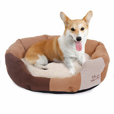 Pet Dog Bed Small Puppy Cat Soft Cozy Fleece Kennel Plush Mat Warm Nesting
