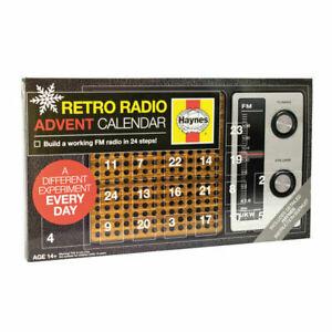 Retro Radio Advent Calendar