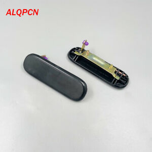 1 Pair left and right side front door outer handle black for Daewoo Damas