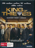 King of Thieves DVD NEW Region 4 Michael Caine