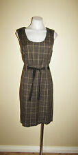 Jacqui E designer size 14 summer work office checked dress