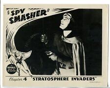 """Spy Smasher 8""""x10"""" B&W Promotional Still Kane Richmond FN"""