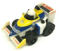 1988 Honda RACE CAR FORMULA 1 (Canon Tactel Mobil 1) #6 Pull Back Motor Vintage