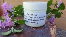 Hyaluronic Acid, Vitamin C & Rose Hip Seed Oil - Face, Neck & Eye Cream - 2 oz.