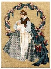 """COMPLETE CROSS STITCH MATERIALS - """"SWEET DREAMS"""" BY Lavender and Lace"""
