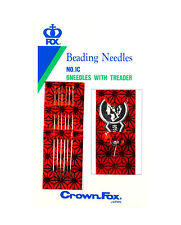 6 pcs Beading Needles With 1 pc Threader 6mm