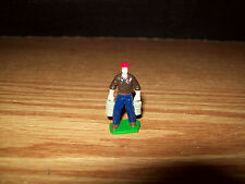 ERTL 1/64 COUNTRY MAN FARMER W BUCKETS CONSTRUCTION BUILDING HOUSE SHED DISPLAY