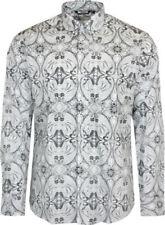 Camisas y polos de hombre negro color principal blanco 100% algodón