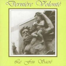 DERNIÈRE VOLONTÉ Le Feu Sacré CD *SEALED* blutharsch novy svet death in june