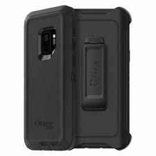 Genuine OtterBox Samsung Galaxy S9 Defender Series Case Cover & Belt Clip Black
