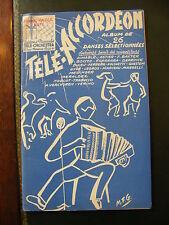 Spartito Teleaccordeon 26 Danses Selezionato Aimable Astier Verchuren