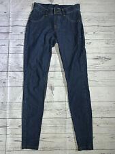 "HUE Denim Jean Jegging Leggings Medium Wash Size XS x 29.5"" Inseam"