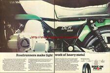 Avon Roadrunners Tyres Motorcycle 1977 Magazine Advert #240