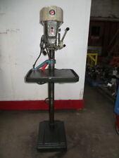 "Delta Rockwell 15-665 Floor Model Style Drill Press 1/2"" Cap. 115-230VAC, Used"