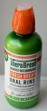 TheraBreath Oral Rinse Fresh Breath Dry Mouthwash 16 Oz 473 ml Bad Breath Mint