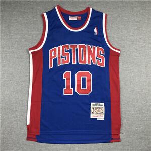Retro Dennis Rodman #91 Chicago Bulls Basketball Trikots Jersey Stripe Schwarz