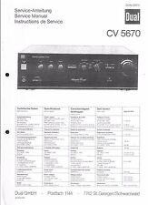 Dual service manual pour CV 5670