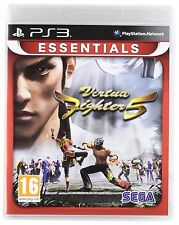 PS3 Virtua Fighter 5 Essentials Nuevo Precintado Pal España