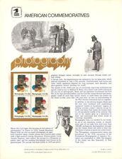 #98 13c Photography - Art #1758 USPS Commemorative Stamp Panel