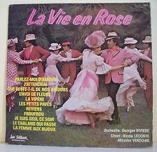 33T Georges RIVIERE Orchestre N LECONTE M VENDOME Chant Disque LP LA VIE EN ROSE