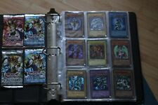 Ultra Rare Yugioh Collection Total of 185+ Cards + 4 Unopened Yugioh card packs!