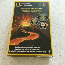 National Geographic Build Your Own Volcano Kit STEM Educational Activity for Kid