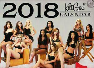 """2018 TILTED KILT """"Kilt Girl"""" Pub & Eatery Swimsuit / Bikini / Lingerie CALENDAR!"""