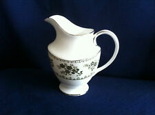 Royal Doulton Valleygreen milk jug (very minor rim gilt wear)
