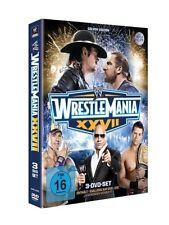 *** WWE Wrestlemania XXVII 27 *** Collector`s Edition *** 3 DVDs Im Pappschuber