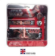 5Pcs STAR WARS LARGE STATIONERY SET Episode VII Kylo Ren Kids Birthday Gift UK