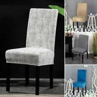 2/4PC Chair Covers Stretch Seat Cover Protector Slipcover Dining Home Furniture