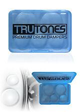 Drums 10-Pack TruTones drum head Muffler mute 10 piece premium damper pads New