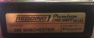 REDDING 308 Win Premium 3 Die Deluxe Set 68155 W/Bonus Read Description Not RCBS