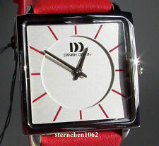 Danish Design * Damenuhr * Stahl * Lederband * Quarz * Ref. 3324518 *