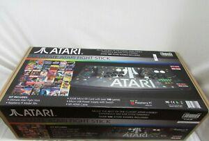 Atari Ultimate Arcade Fightstick USB Dual Fightstick with Keys SEE DESCRIPTION