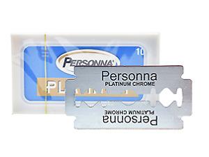 Personna Platinum | Double Edge Stainless Steel Razor Blades - German Model - DE