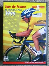 1999 Tour De France World Cycling Productions 4 DVD 8 hrs Lance Armstrong Clean
