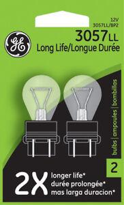 Brake Light Bulb-Base GE Lighting 3057LL/BP2