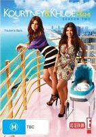 A9 BRAND NEW SEALED Kourtney & Khloe Take Miami : Season 2 (DVD, 2011)