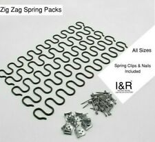 Upholstery Zig Zag Springs for DIY Sofa Settee Chair Repair Serpentine Any Size