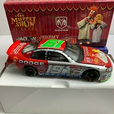 RARE Jeremy Mayfield #19 Dodge/Muppet show 25th 2002 NASCAR Action 1:24 Diecast