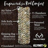 Klymit Insulated Static V All Season Camping Compact Sleeping Mattress Pad (I...