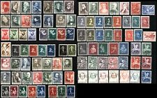 NETHERLANDS Scott# B77-B174 SEMI-POSTAL Stamps Postage Collection 1935-1946 USED