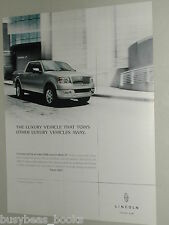 2006 LINCOLN MARK LT Pickup advertisement, Lincoln Mark LT SUV/pickup truck
