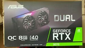 ASUS Dual GeForce RTX 3070 OC Graphics Card, SEALED, NEW!!