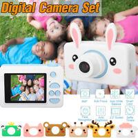 2 Pouce Caméra Enfant HD 1080P Appareil Photo Numérique Rechargeable SD Carte